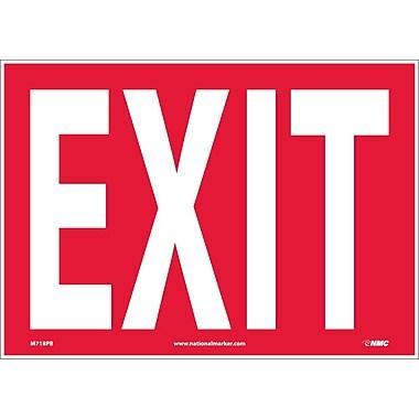 Exit 10X14 Adhesive Vinyl