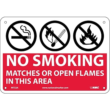 No Smoking Matches Or Open Flames In This Area, Graphics, 7