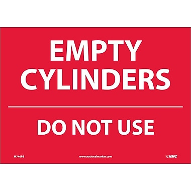 Empty Cylinders Do Not Use, 10