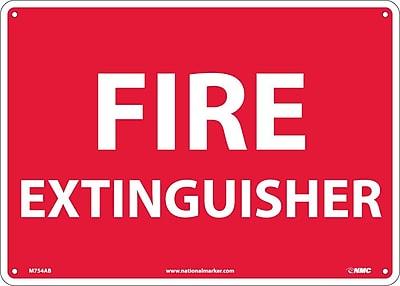 Fire Extinguisher, 10X14, .040 Aluminum