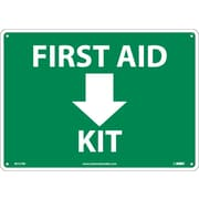 """First Aid Arrow Kit, 10"""" x 14"""", Rigid Plastic"""