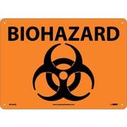 Biohazard (Symbol), 10X14, .040 Aluminum