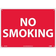 No Smoking, 10X14, .040 Aluminum