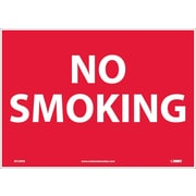 No Smoking, 10X14, Adhesive Vinyl