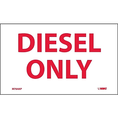 Labels -Diesel Only, 3