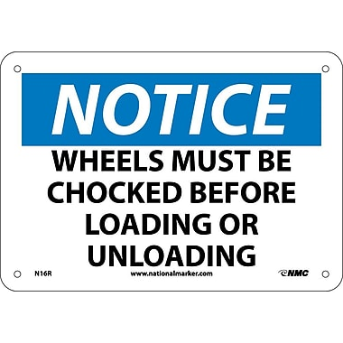 Notice, Wheels Must Be Chocked Before Loading Or Unloading, 7