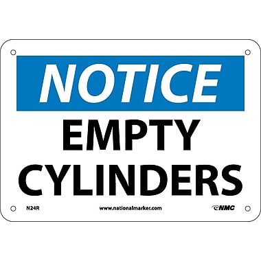 Notice, Empty Cylinders, 7
