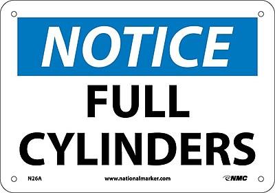 Notice, Full Cylinders, 7X10, .040 Aluminum