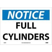 Notice, Full Cylinders, 10X14, Adhesive Vinyl