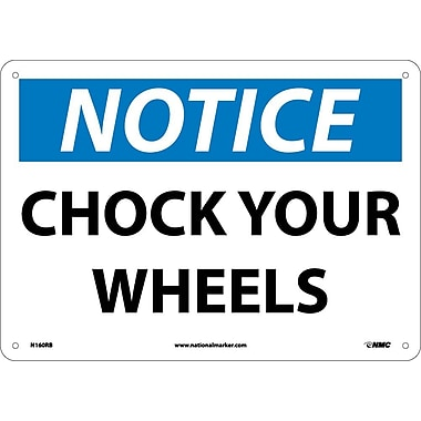 Notice, Chock Your Wheels, 10