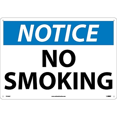 Notice, No Smoking, 14