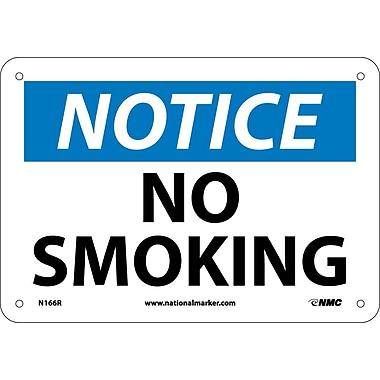 Notice, No Smoking, 7
