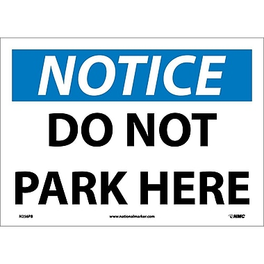 Notice, Do Not Park Here, 10