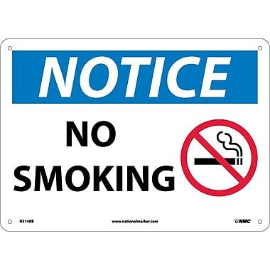 Notice, No Smoking, Graphic, 10