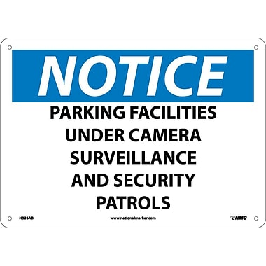 Notice, Parking Facilities Under Camera Surveillance And Security Patrols, 10