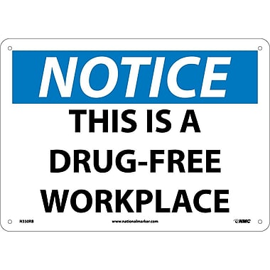 Notice, This Is A Drug-Free Workplace, 10