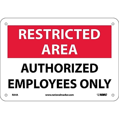 Restricted Area, Authorized Employees Only, 7