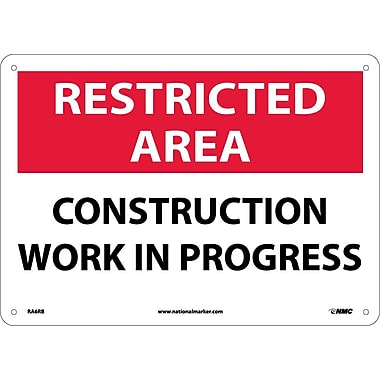 Restricted Area, Construction Work In Progress, 10
