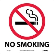 No Smoking, 4X4, Adhesive Vinyl