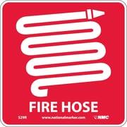 Fire Hose (W/ Graphic), 7X7, Rigid Plastic
