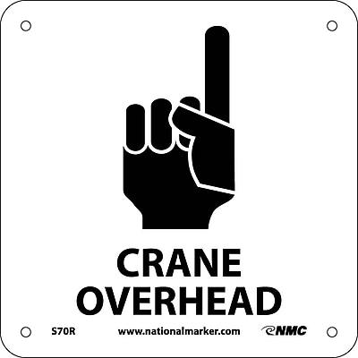 Crane Overhead (W/ Graphic), 7X7, Rigid Plastic