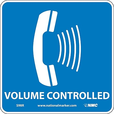 Volume Controlled (W/ Graphic), 7X7, Rigid Plastic