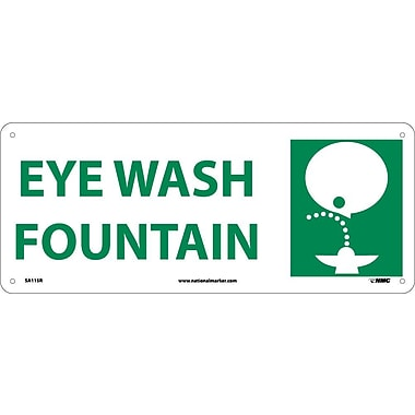 Eye Wash Fountain with Graphic, 7