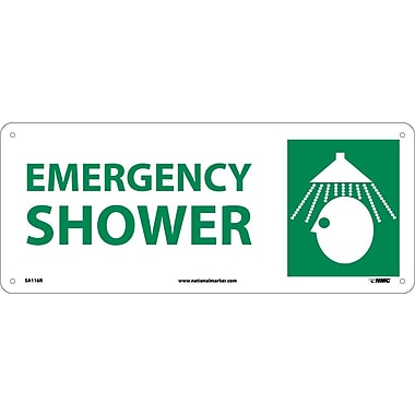 Emergency Shower with Graphic, 7