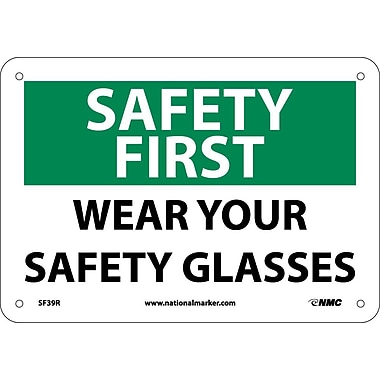 Safety First, Wear Your Safety Glasses, 7