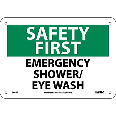 Safety First, Emergency Shower/Eye Wash, 7
