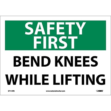 Safety First, Bends Knees While Lifting, 10