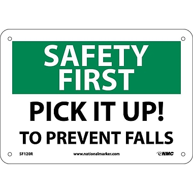 Safety First, Pick It Up! To Prevent Falls, 7