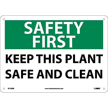 Safety First, Keep This Plant Safe And Clean, 10