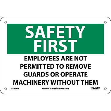 Safety First, Employees Are Not Permitted To Remove Guards.., 7