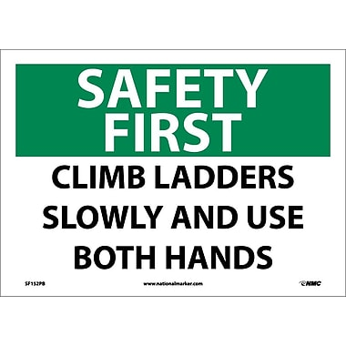 Safety First, Climb Ladders Slowly And Use Both Hands, 10
