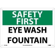 Safety First, Eye Wash Fountain, 10X14, .040 Aluminum