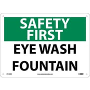 Safety First, Eye Wash Fountain, 10X14, Rigid Plastic