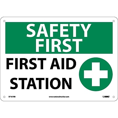 Safety First, First Aid Station, Graphic, 10