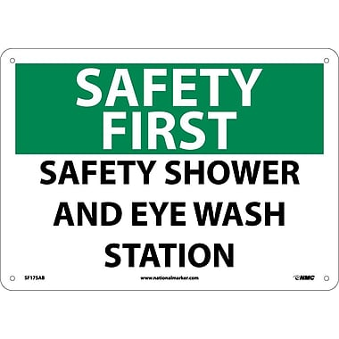 Safety First, Safety Shower And Eye Wash Station, 10