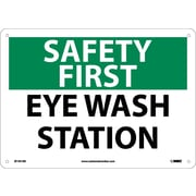 Safety First, Eye Wash Station, 10X14, .040 Aluminum