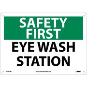 Safety First, Eye Wash Station, 10X14, Rigid Plastic