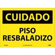 Cuidado, Piso Resbaladizo, 10X14, Adhesive Vinyl
