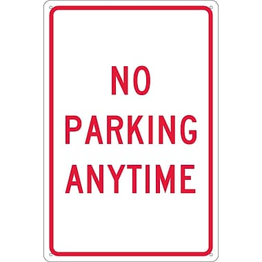 No Parking Anytime, 18