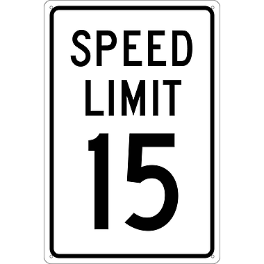 Speed Limit 15, 18