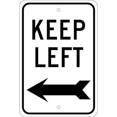 Keep Left with Arrow, 18