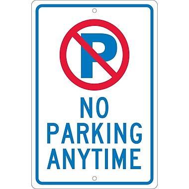 P with Slash No Parking Anytime, 18