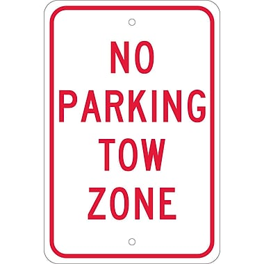 No Parking Tow Zone, 18