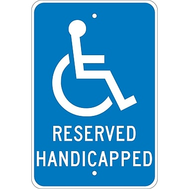 Graphic, Reserved Handicapped, 18