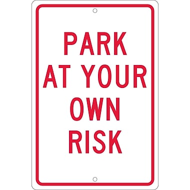 Park At Your Own Risk, 18