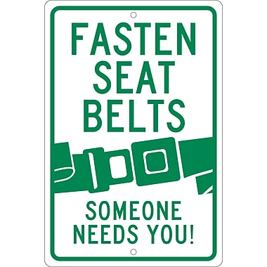 Fasten Seat Belts Graphic Someone Needs You, 18